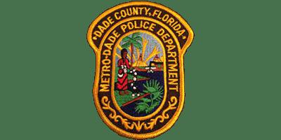 Dade County Florida Metro-Dade Police Department logo
